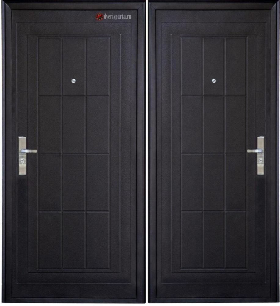 железная дверь эконом класса с установкой на заказ